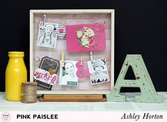 **Pink Paislee**  Desktop Home Decor