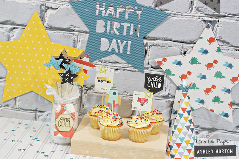 **Crate Paper** Kid's Party Decor