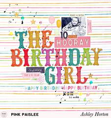 **Pink Paislee** The Birthday Girl