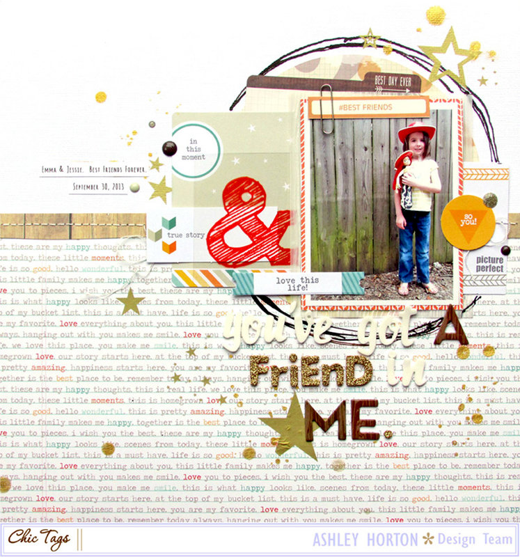 You've Got a Friend in Me ***Chic Tag***