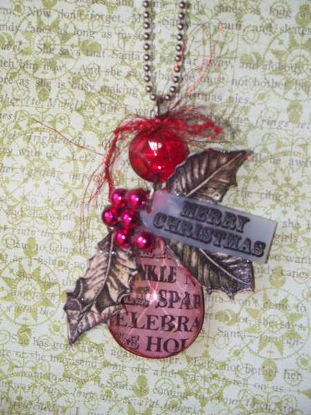 Teresa Collins Noel Christmas Necklace