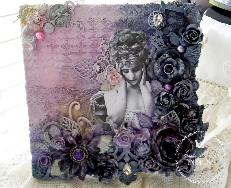 Assemblage Art Canvas