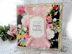 Anna Griffin Happy Bithday Card