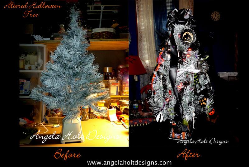 Halloween Style Tree