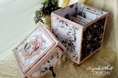 Rose Quartz Card/decorative storage box