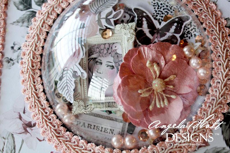 Rose Quartz Card/decorative storage box