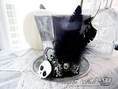 Silhouette's Mourner's 3D Top Hat