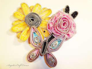 Zipper Flowers!!!
