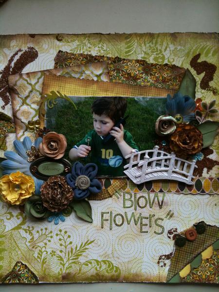 """Blow Flowers"""