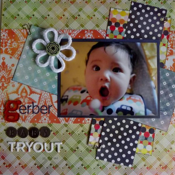 Gerber Baby Tryout