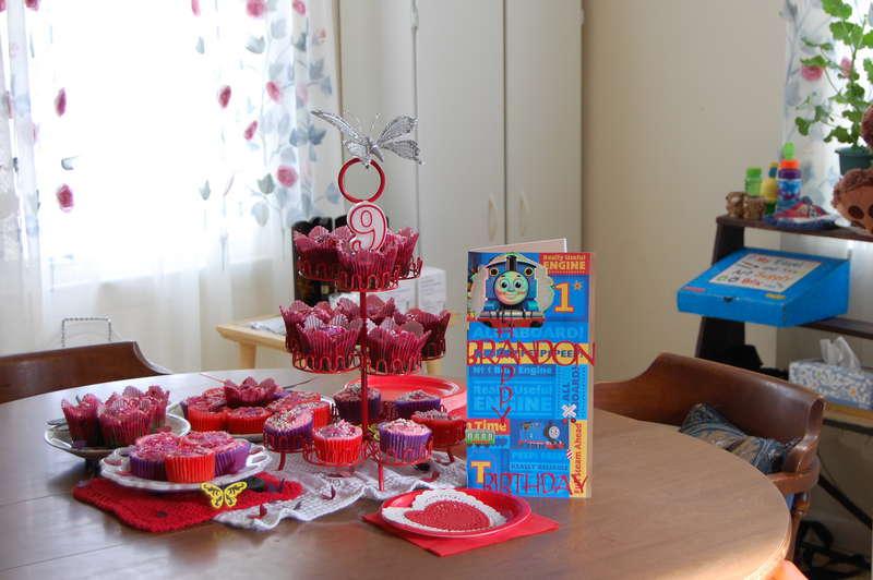 son's birthday party