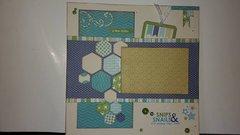Hexagon Layout