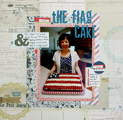 The Flag Cake