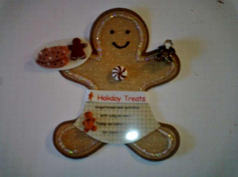 Gingerbread Man Poem