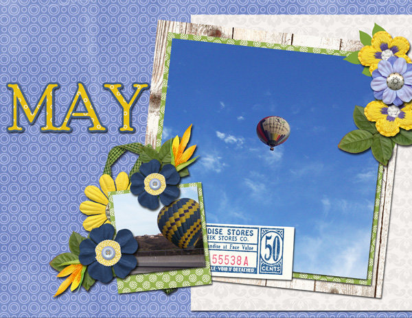 May Calendar Top