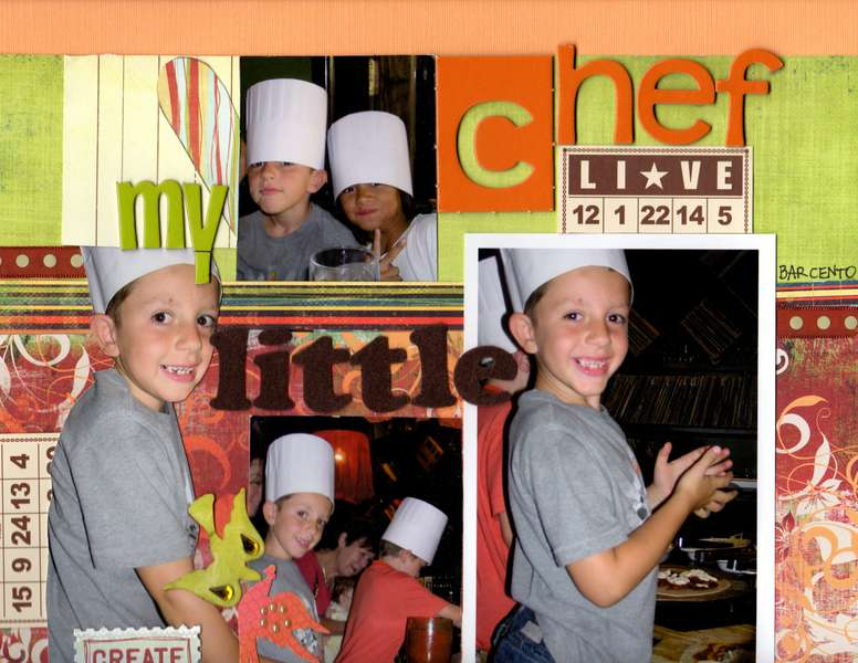 my little chef