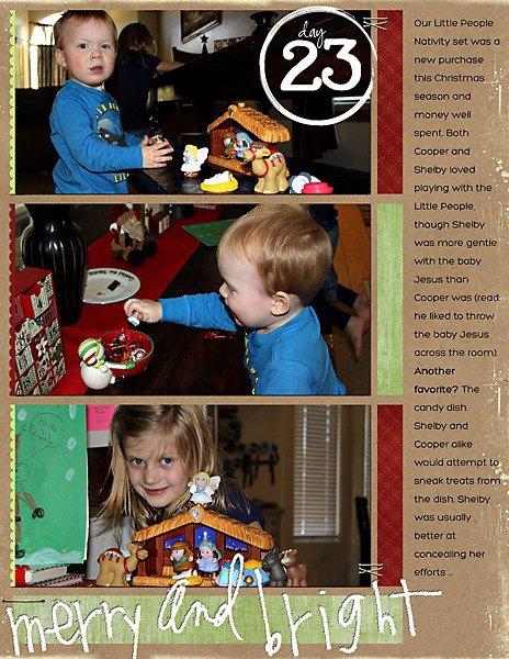 Journal Your Christmas (Days 21-25)