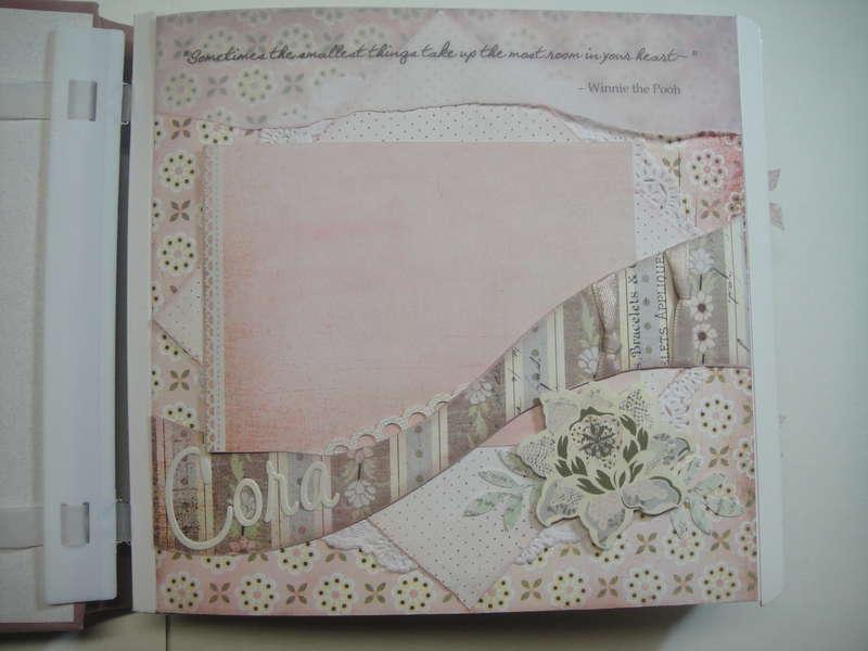 Cora album title page