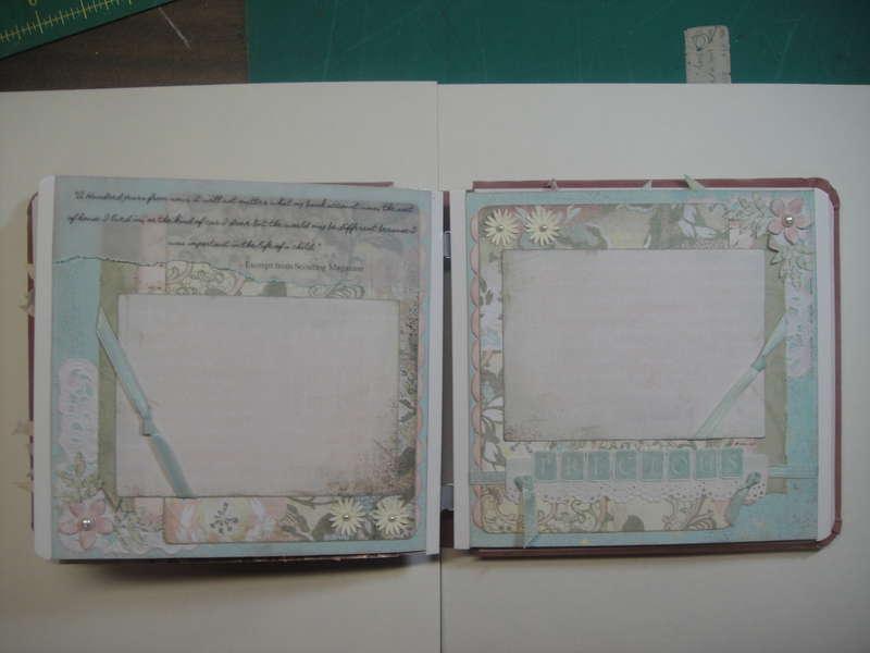 Cora album pages