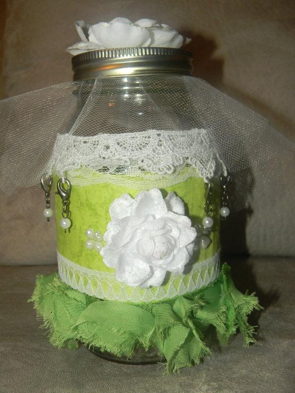 Altered mason jar
