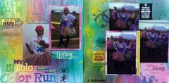 My 1st solo Color Run
