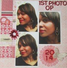 1st Photo Op