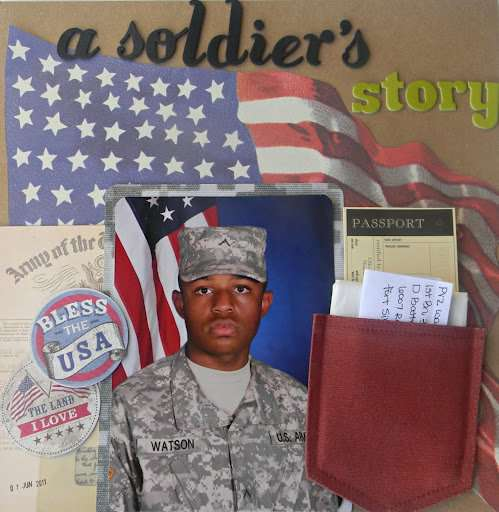 A soldier's story...