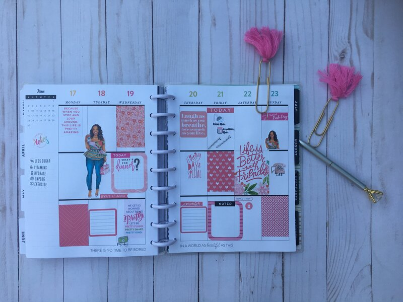 Planner Spread 17 June 2019- 22 June 2019