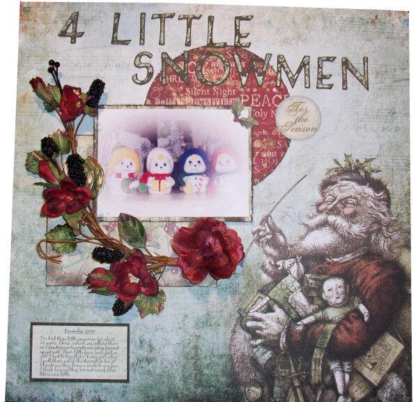 4 Little Snowmen