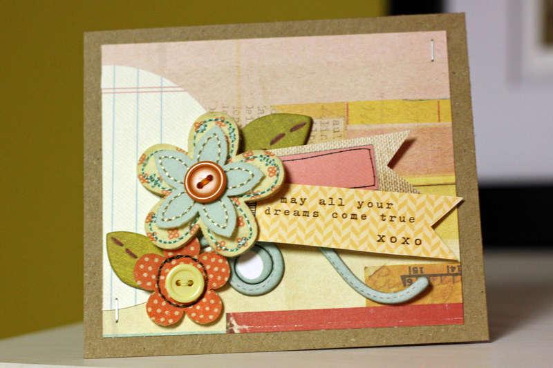 *Elle's Studio March* Dreams card