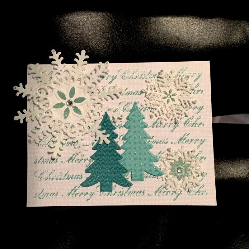 A Snowflake Christmas Card
