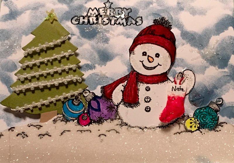 Christmas Card for Nate
