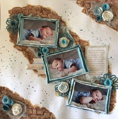 Jose' One Month Photo Shoot