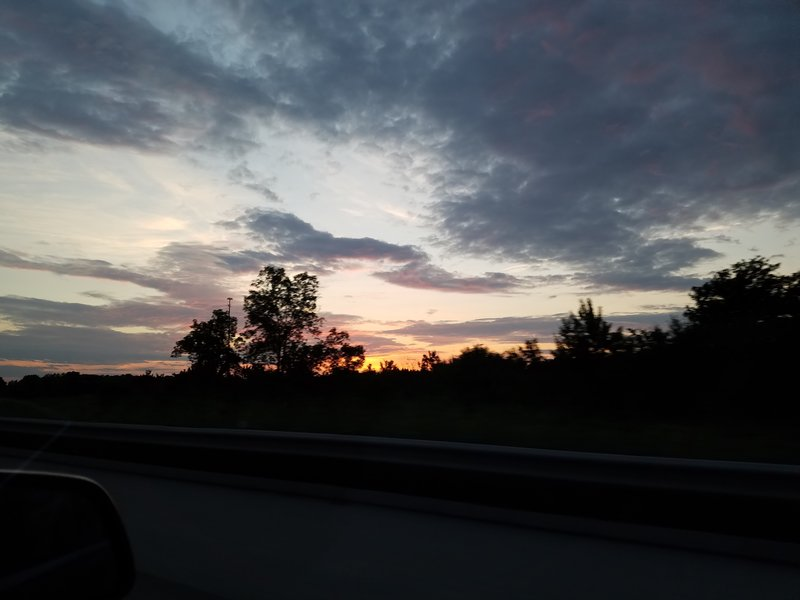 Sunset in Plymouth Township, OH