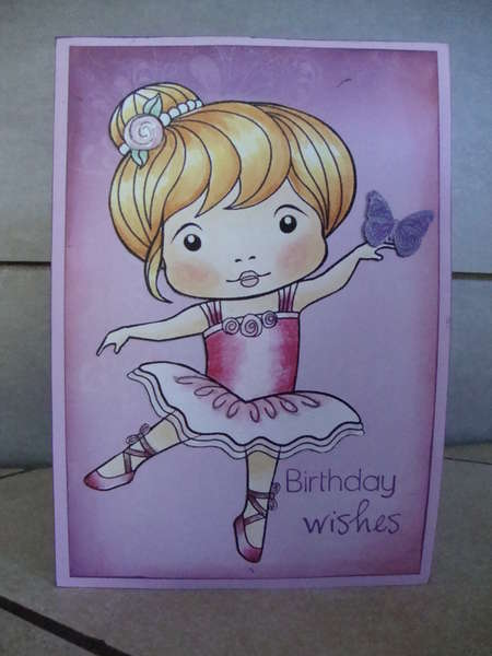 Birthday Wishes - Ballerina Marci