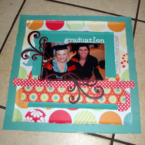Graduation - September Blind Scrap