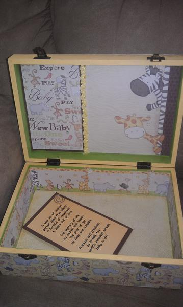 Altered baby box