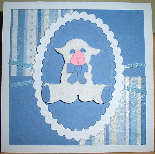 Easter or Baby Boy Card