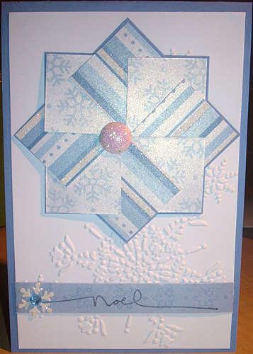 Snowflake pinwheel
