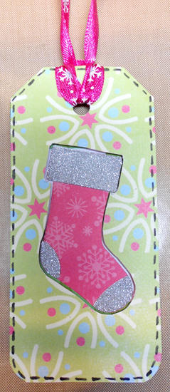Christmas Stocking Tag