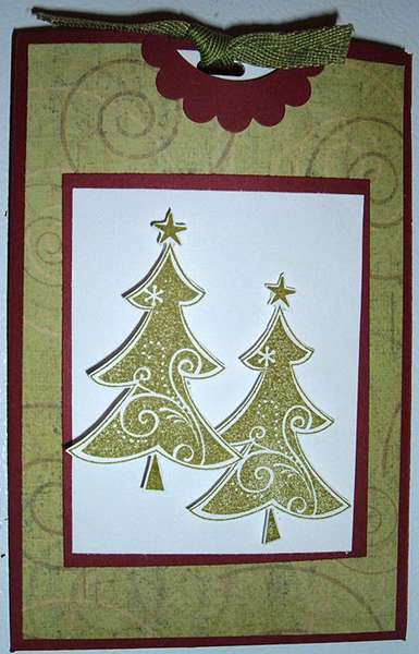 Christmas Tree Gift Holder