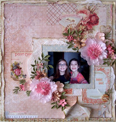 Tickled Pink Layout