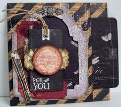Stationer's Desk Masculine Pocket Card