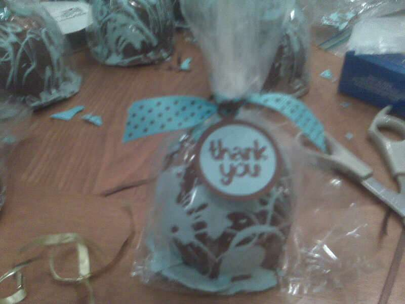 Baby Shower Candy Apples And Tags