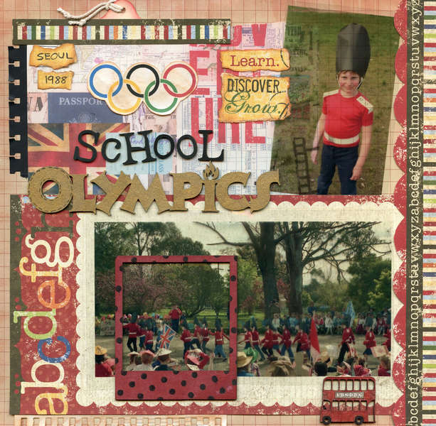 School Olympics page 1