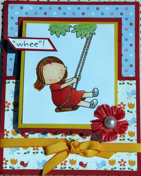 Swing Girl by Jennie Lin Black