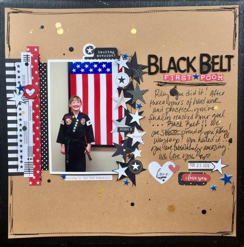 Black Belt/First Poom