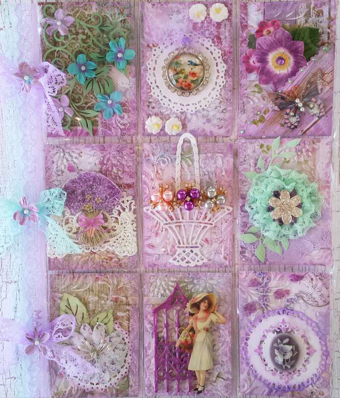 Lavender Obsession Pocket Letter for Rebecca