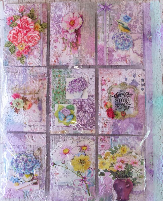 Lavender Obsession Pocket Letter for Rebecca