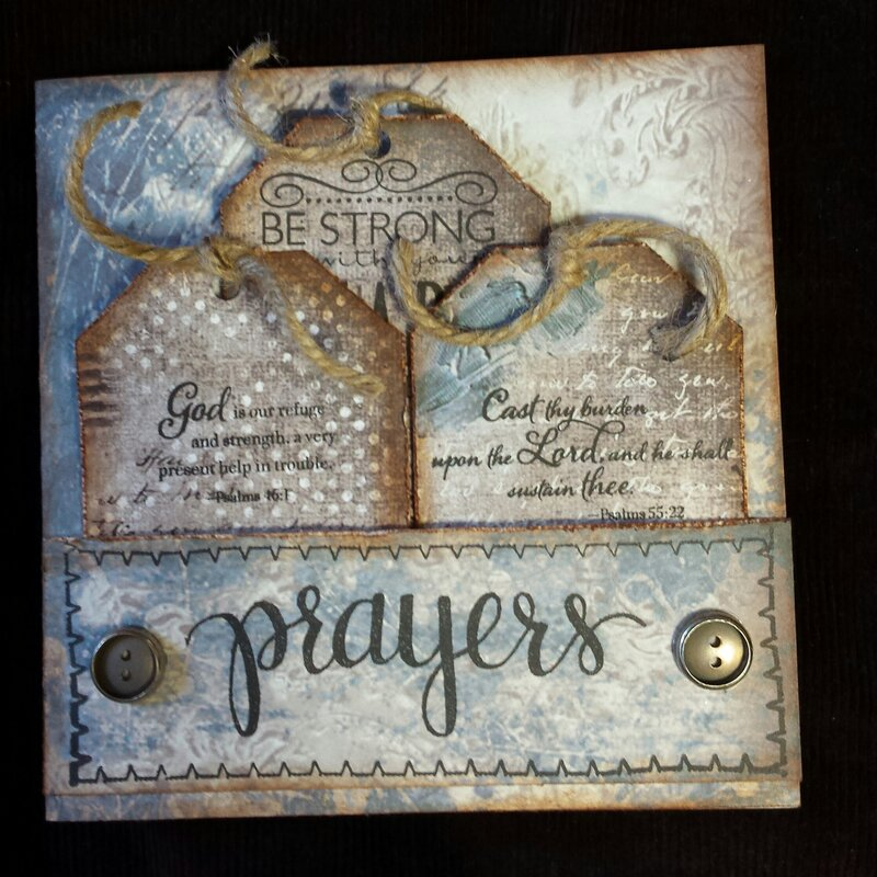 Prayers Inspirational Card